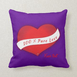 100%の純粋な愛 クッション