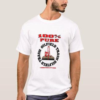 100%の純粋な油田の屑、油田のTシャツ、油、ガス Tシャツ