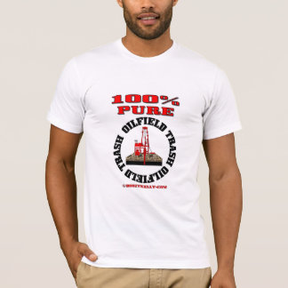 100%の純粋な油田の屑、無作法者のTシャツ、油、 Tシャツ