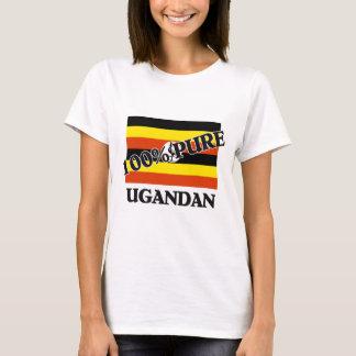 100%ウガンダ人 Tシャツ