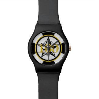 $100。 ポーカー用のチップのダイヤル 腕時計