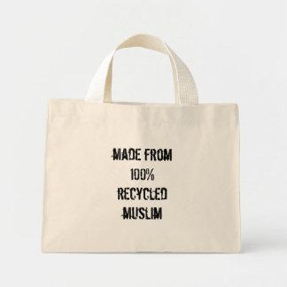 100%リサイクルされたイスラム教から作られる ミニトートバッグ