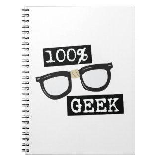 100%年のギーク ノートブック