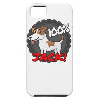 100%年のジャックラッセル iPhone SE/5/5s ケース