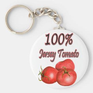 100%年のジャージーのトマト キーホルダー