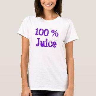 100%年のジュースのTシャツ Tシャツ