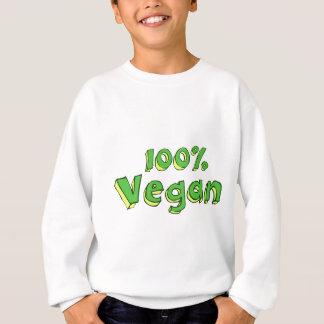 100%年のビーガン スウェットシャツ