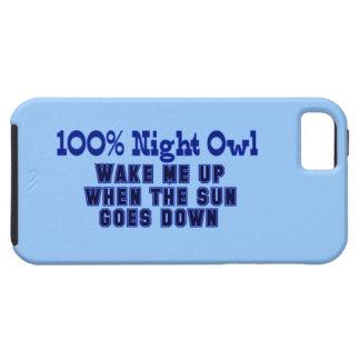100%年の夜型の人 iPhone SE/5/5s ケース