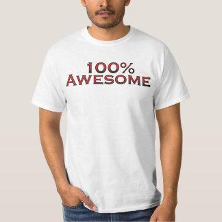 100%年の素晴らしいコンボのワイシャツ Tシャツ