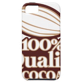 100%年の質のココア iPhone SE/5/5s ケース