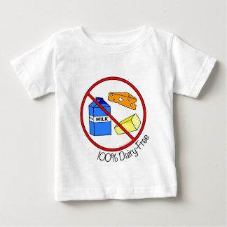 100%年の酪農場は放します ベビーTシャツ