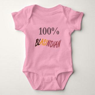 100%年のBlasindianの乳児のクリーパー ベビーボディスーツ