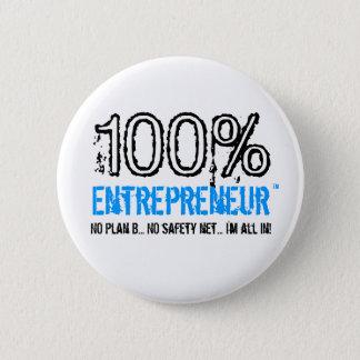 100%年のEntrepreneur™ボタン 缶バッジ