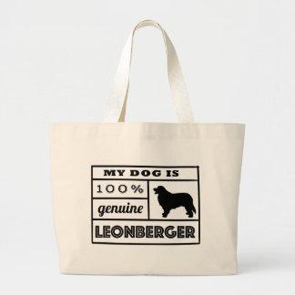 100%年のLeonberger ラージトートバッグ