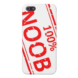 100%年のNoobのゴム印 iPhone 5 カバー