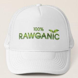 100%年のRawganicの未加工食糧 キャップ