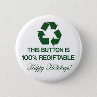 100%年のRegiftableボタン 缶バッジ