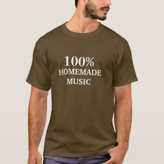 100%年、HOMEMADEMUSIC Tシャツ