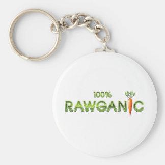 100%年Rawganicの未加工食糧-にんじんの キーホルダー