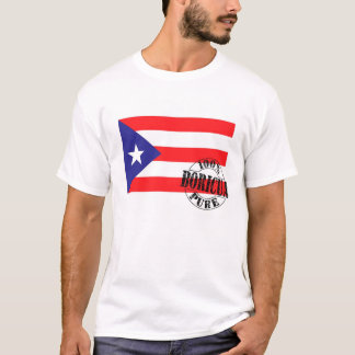 100%純粋なBoricua Tシャツ