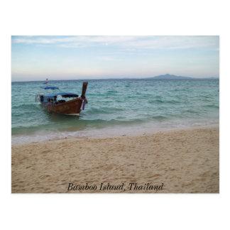 100_3577のタケ島、タイ ポストカード