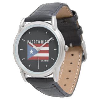 100 Boricua: プエルトリコ 腕時計