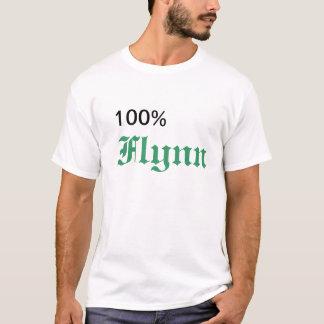 100%flynn tシャツ
