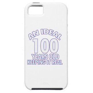 100th誕生日のデザイン iPhone SE/5/5s ケース