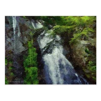 101日本の森林滝 ポストカード