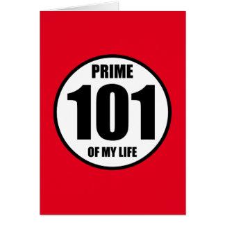 101 -私の生命の全盛 カード
