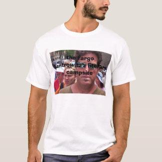 101_0071のファーゴのkantrowitz'zの文学的なキャンプ場 tシャツ