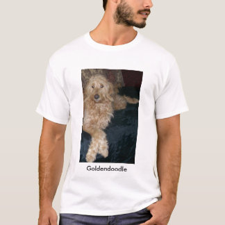 101_1570、Goldendoodle Tシャツ