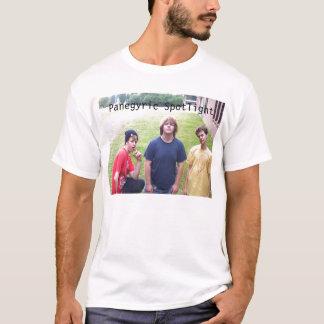 101_5978のカスタマイズPanegyricのスポットライト- Tシャツ