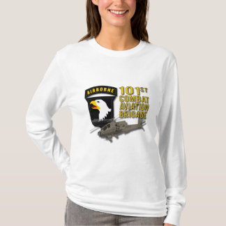 101st戦闘任務航空部隊-アパッシュ tシャツ