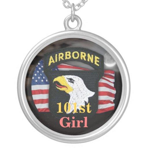 101st|空輸|分割|退役軍人|獣医|女の子|Neckl カスタムジュエリー