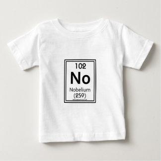 102ノーベリウム ベビーTシャツ