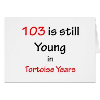 103のカメ年 カード