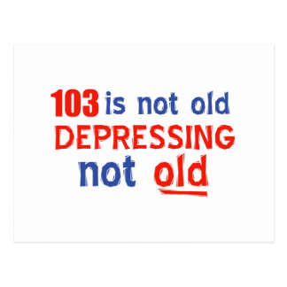 103年は古くないです ポストカード