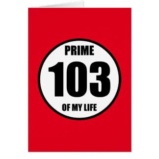 103 -私の生命の全盛 カード