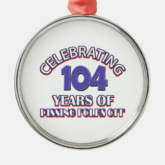 104年間の上昇地獄 メタルオーナメント