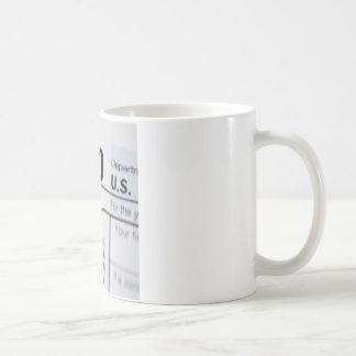 1040Tax コーヒーマグカップ
