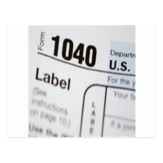 1040Tax ポストカード