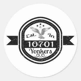 10701 Yonkersに確立される ラウンドシール