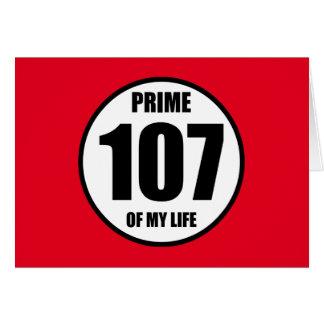 107 -私の生命の全盛 カード
