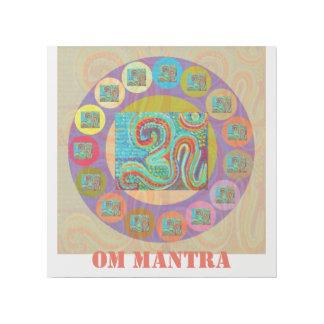 108 OMの信念の治療の詠唱のヒンズー教の記号のおもしろい ギャラリーラップ
