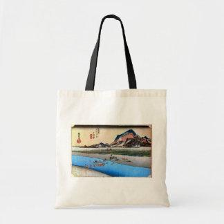 10. 小田原宿、広重小田原juku、Hiroshige、Ukiyo-e トートバッグ