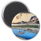 10. 小田原宿、広重小田原juku、Hiroshige、Ukiyo-e マグネット