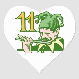 11人のパイパーの配管 ハートシール