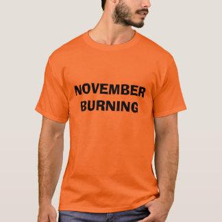 11月の焼却 Tシャツ