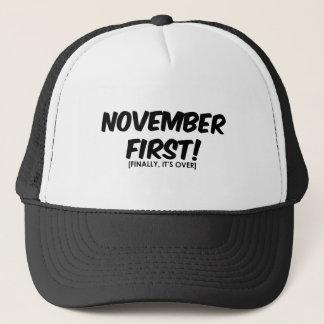 11月1日反ハロウィン キャップ